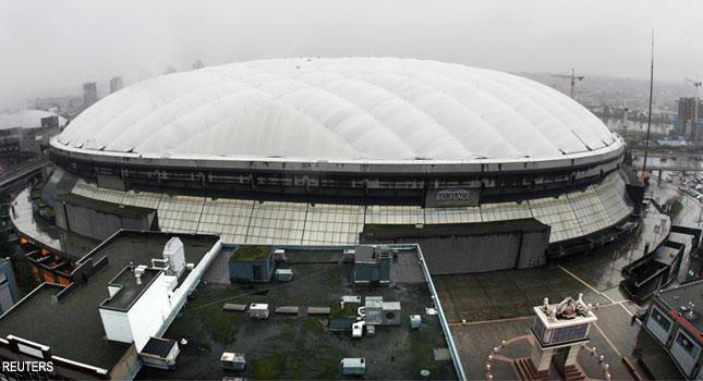 Bc Place Makeover Starts With Iconic Roof Sportsnet Ca