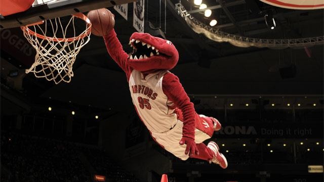 Raptors Mascot Out For Year With Achilles Injury