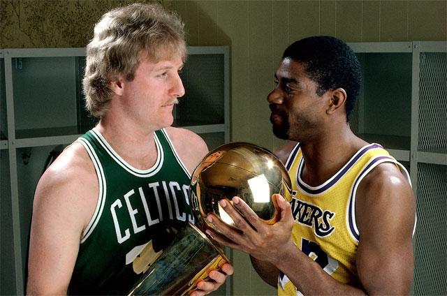 Greatest sports rivalries  Magic Johnson vs. Larry Bird - Sportsnet.ca 0c8957be4