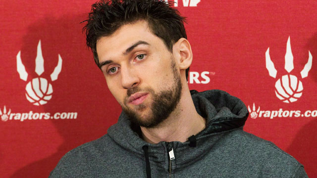 New York Knicks forward Andrea Bargnani. Nathan Denette/CP - bargnani_andrea1