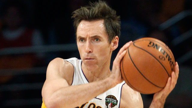 6985b102298 There is no truth to the trade rumours bringing Steve Nash to the Toronto  Raptors, say two NBA sources. Photo: AP/Michael Conroy
