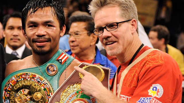 "promo code db3d4 7a46f Trainer Freddie Roach ""hurt"" after split from Manny Pacquiao"