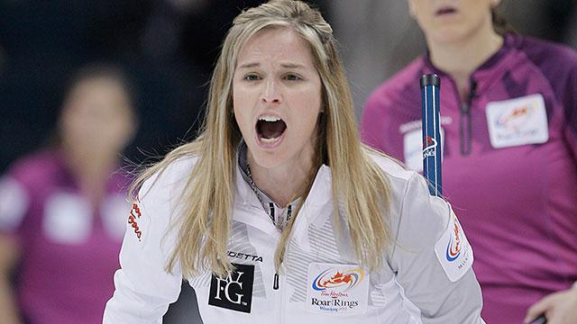 Jones Curling Olympics at Olympic Curling Trials