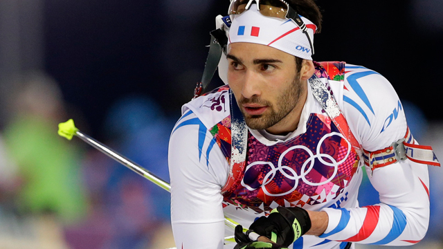 Martin Fourcade won his second gold medal of the Sochi Olympics on ...