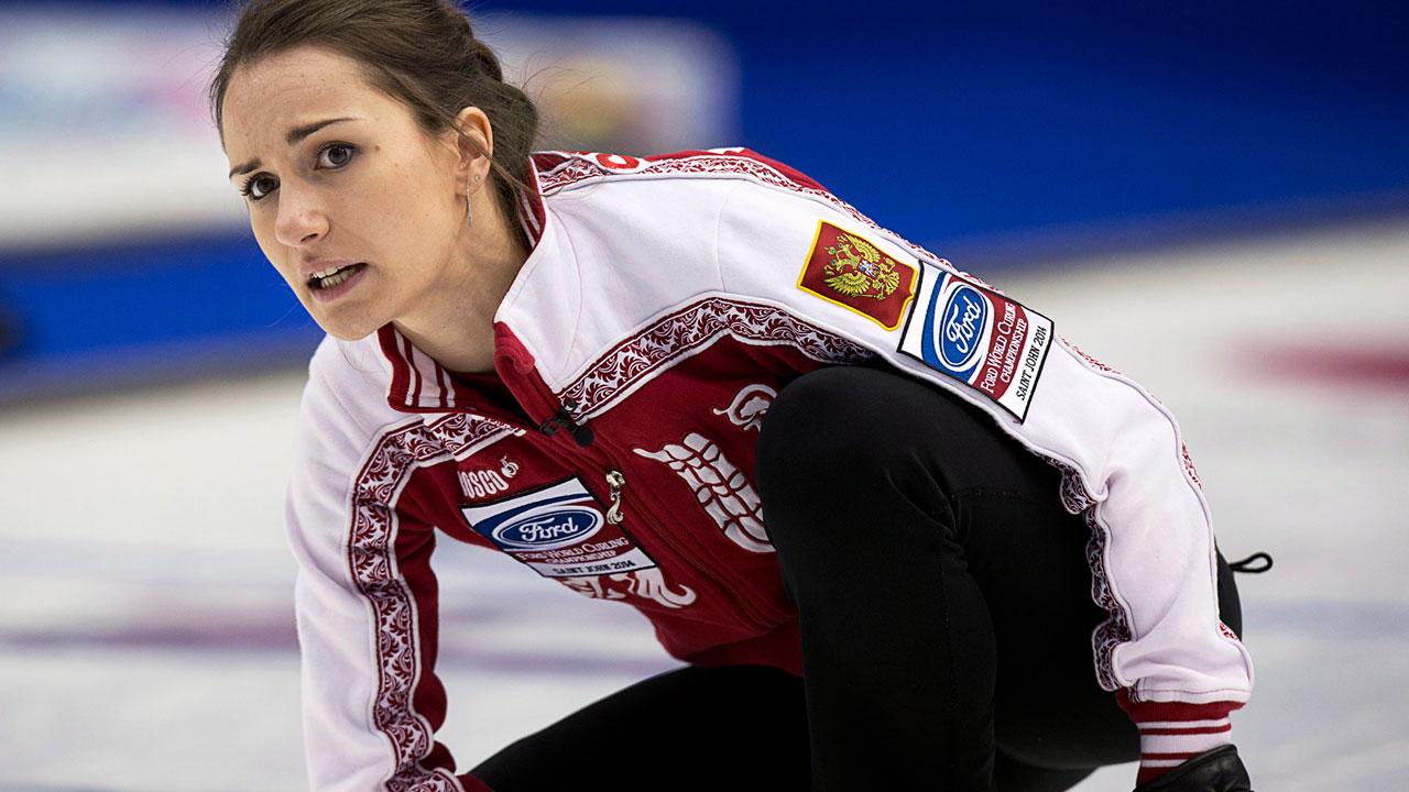 Matchless russian women anna sidorova curling