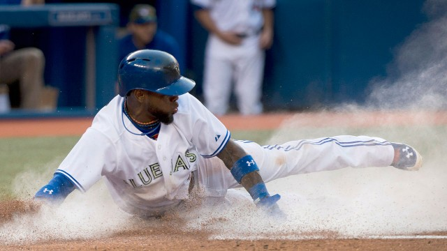 Blue Jays hope rest, new turf helps Reyes