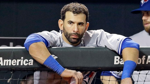 No reason for Bautista to be upset