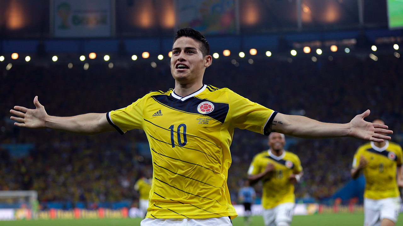 Colombia captain wants World Cup team to use past resolve