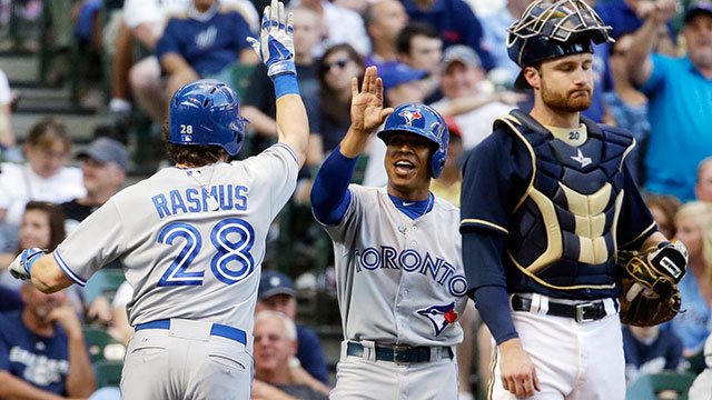 Offensive surge just what reeling Jays needed