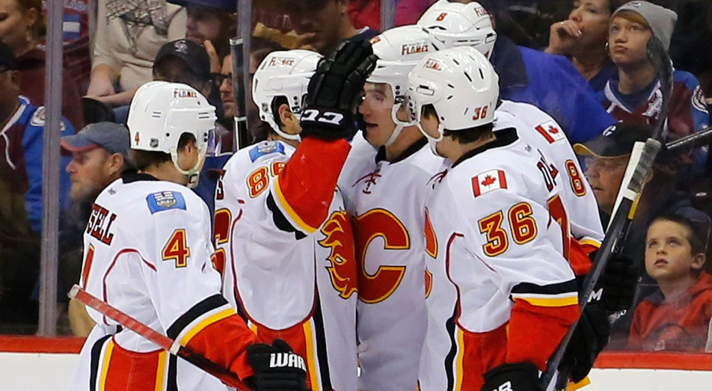 Flames Keep Avalanche Winless In Pre-season