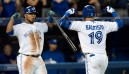 Bautista & Stroman hit milestones in Jays win
