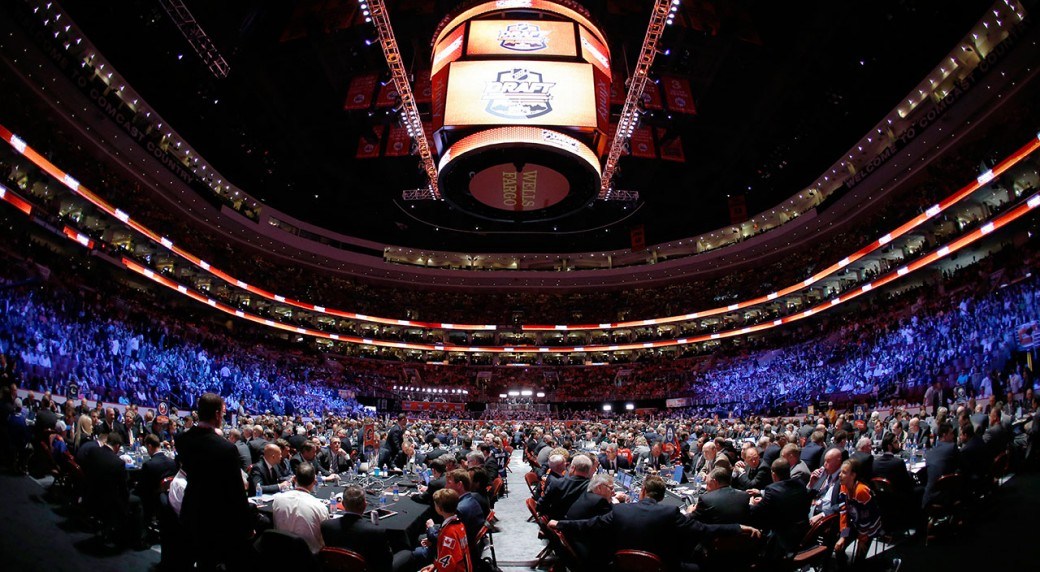 The 2014 draft was hosted by philadelphia while the florida panthers