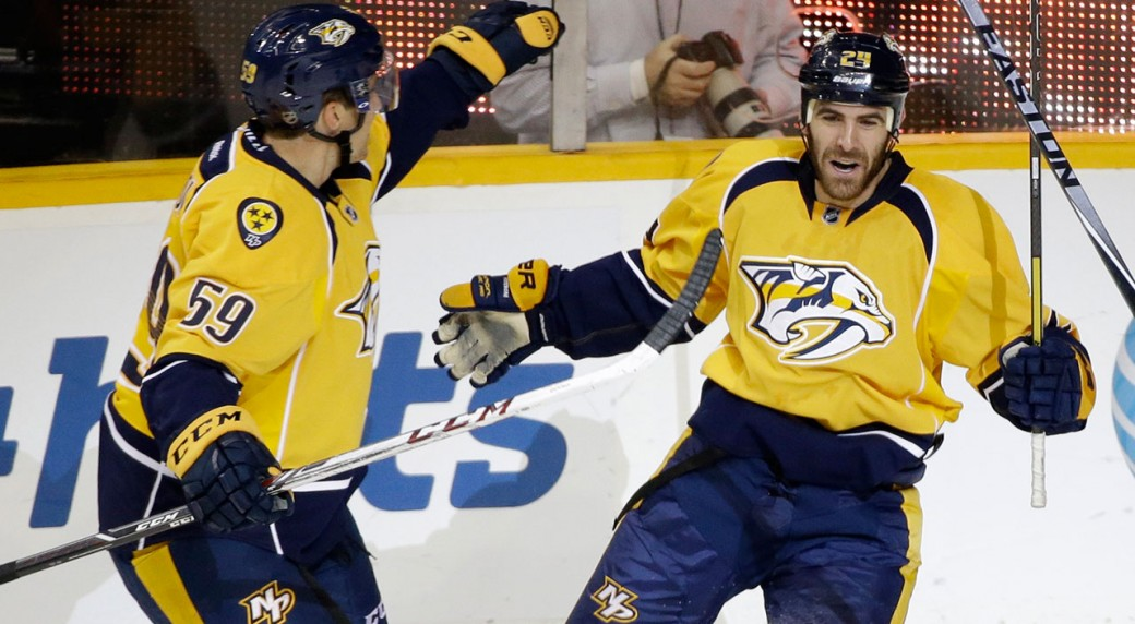 Nashville Predators beat St. Louis Blues 2-1