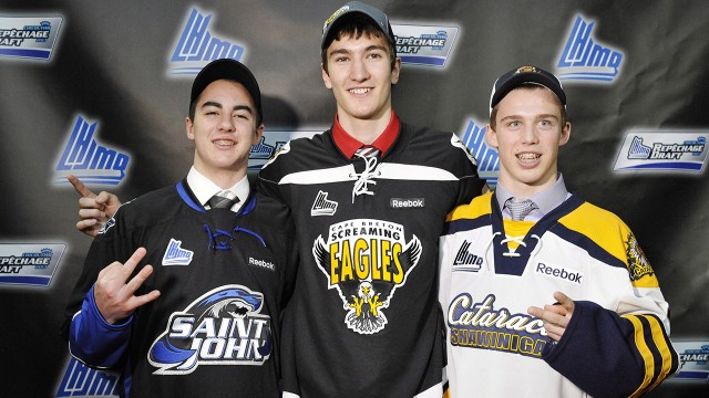 QMJHL: First Pick Roy Embodies Small Town Shyness