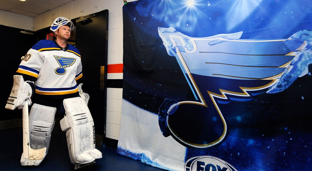 Blues Betting On An Old, Below-average Brodeur