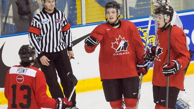 WJC: Virtanen, Point Anointed 'Show Time' At Canadians' Camp