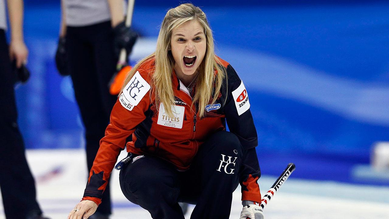 Jones Wins Silver At Women's Curling Championship
