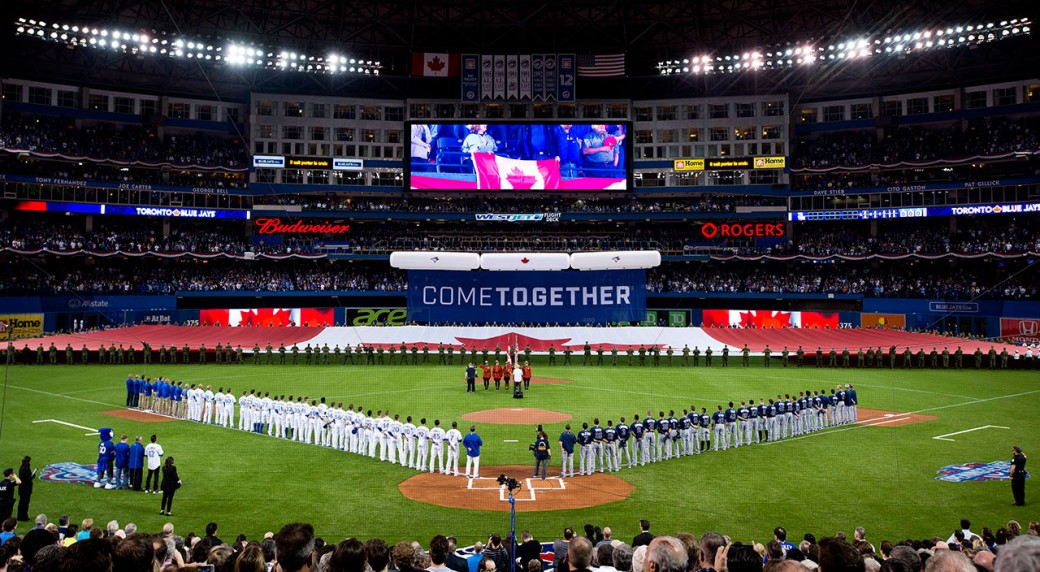 Rogers Centre Roof To Be Closed For Thursday S Blue Jays