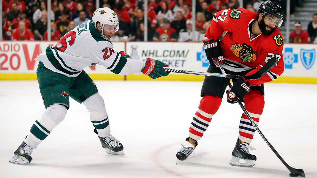 Vanek: I let the Wild down in the playoffs