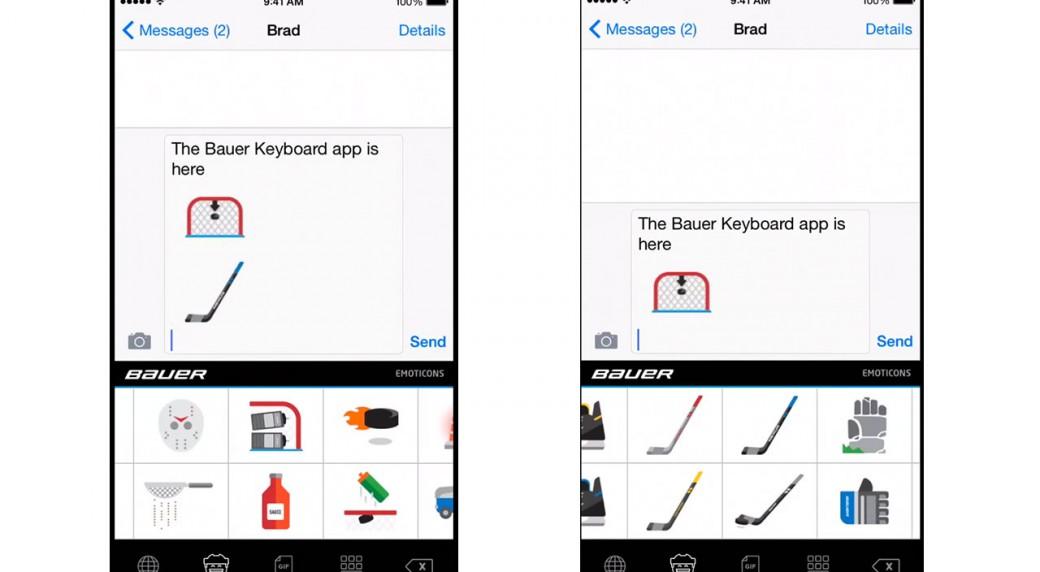 BAUER Hockey releases new hockey emojis - Sportsnet.ca 396ddf358d0