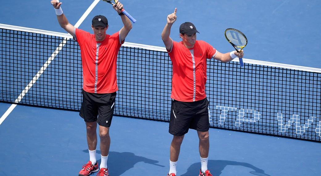 Mike-Bryan;-Bob-Bryan;-Rogers-Cup;-ATP