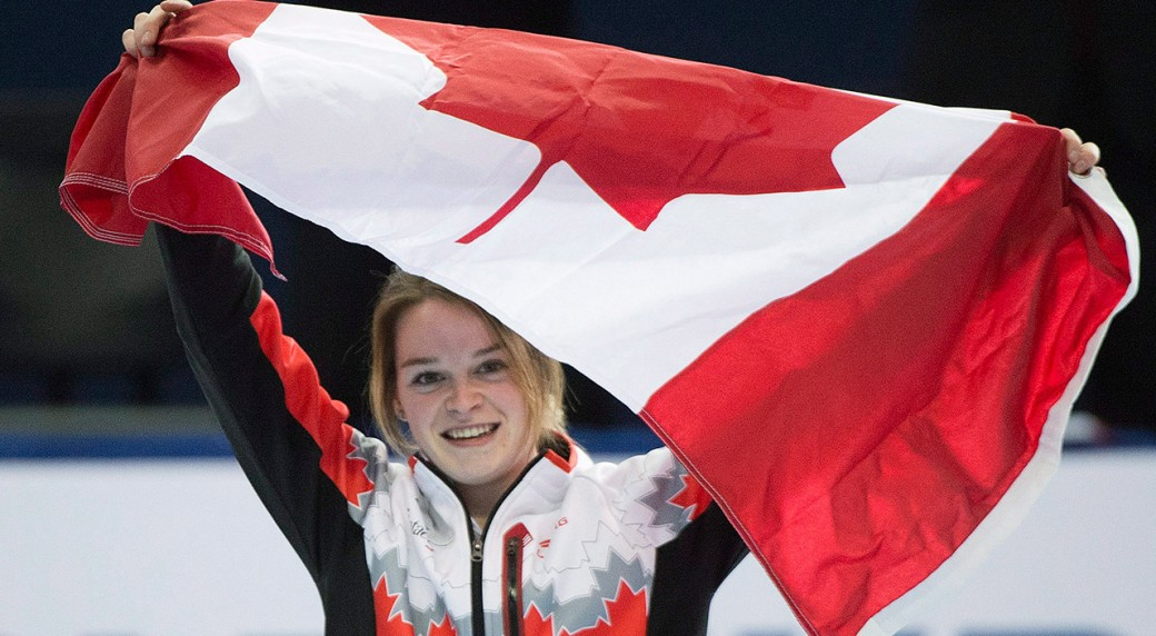 Boutin captures silver in ISU short-track event - Sportsnet.ca