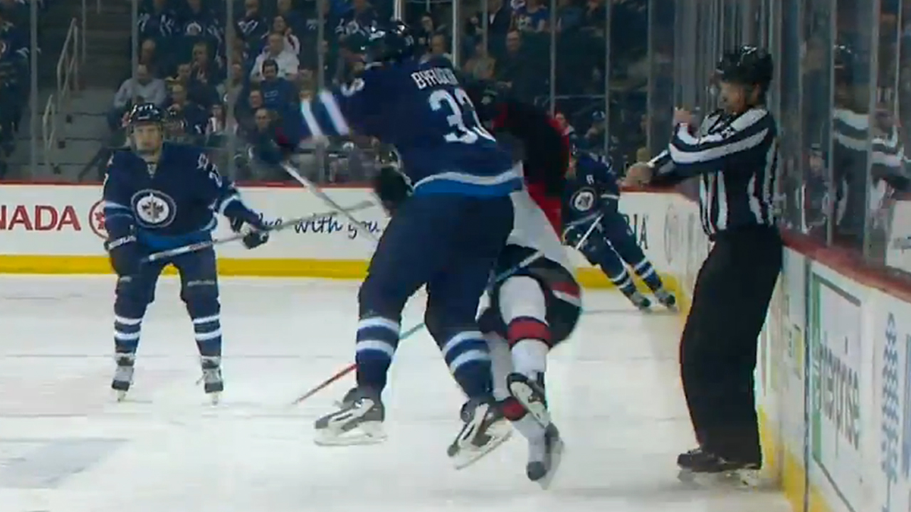 Mark Stone leaves game with chest injury after huge ...