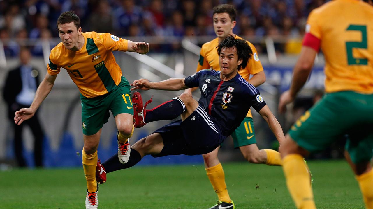 Australia 1-1 Japan