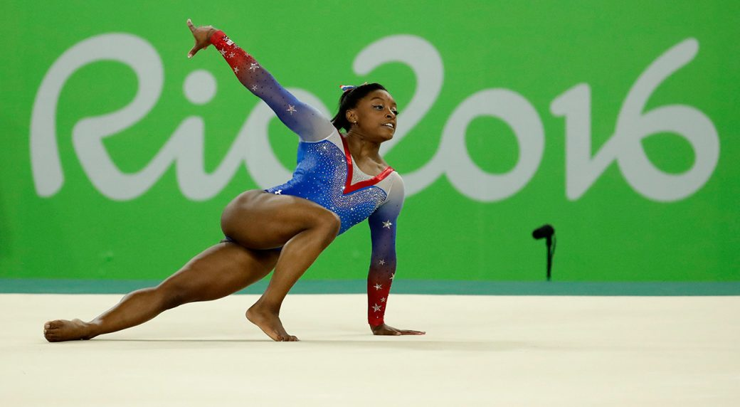 Floor Gymnastics Olympics Intended United States Simone Biles Performs On The Floor During Artistic Gymnastics Womens Apparatus Final At 2016 Summer Olympics In Rio De Janeiro Four For Biles Bolt Coasts 200m Heat