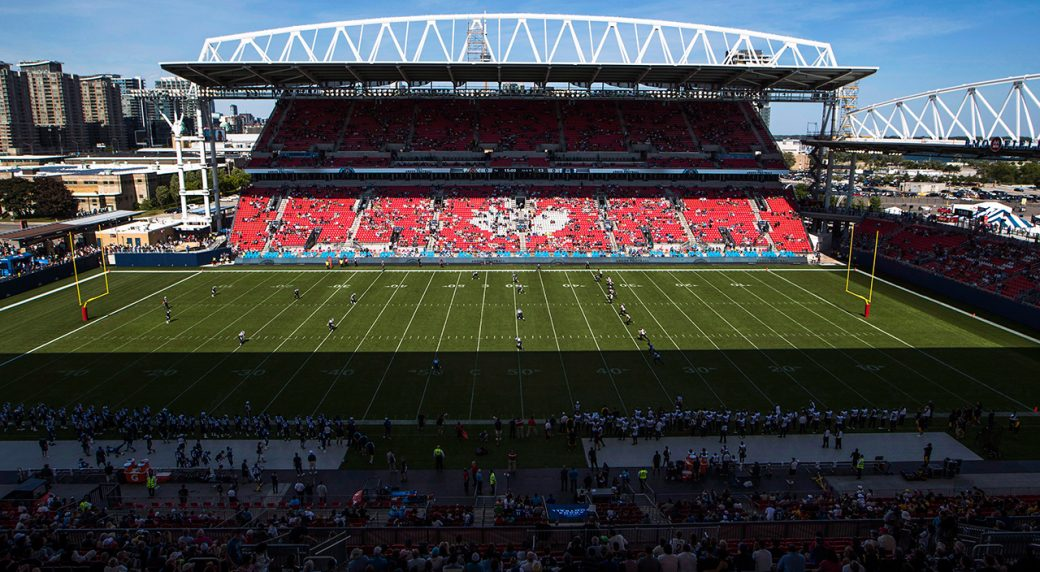 Grey Cup tickets get cheaper in Toronto