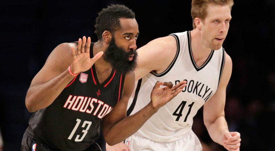 James Harden nets 12th triple-double of season in Rockets win over Nets c13ccb218