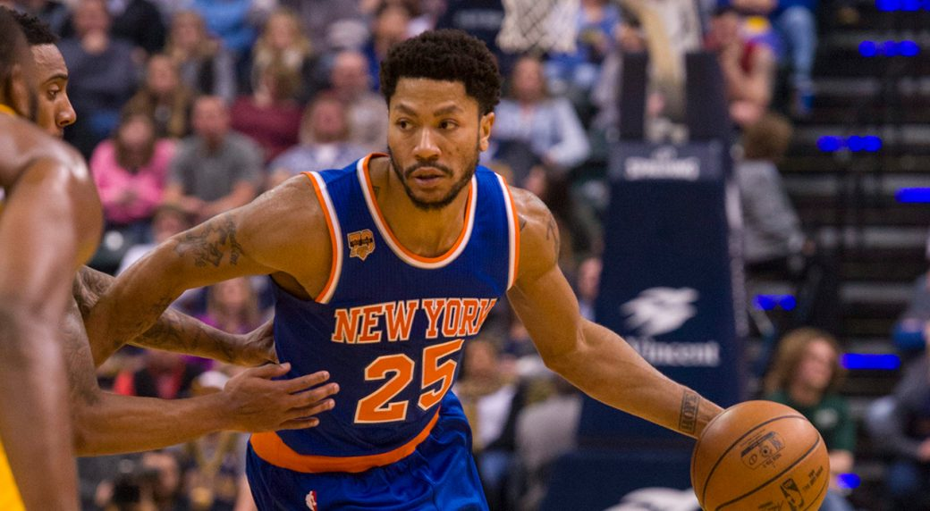 a945279ef279 Knicks holding out Rose against Hawks with sprained ankle - Sportsnet.ca