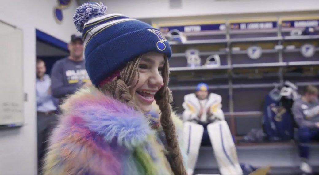 Vladimir Tarasenko Gives 11 Year Old Girl Birthday Gift To Remember