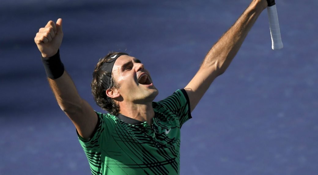 Federer resurgence continues with fifth Indian Wells title