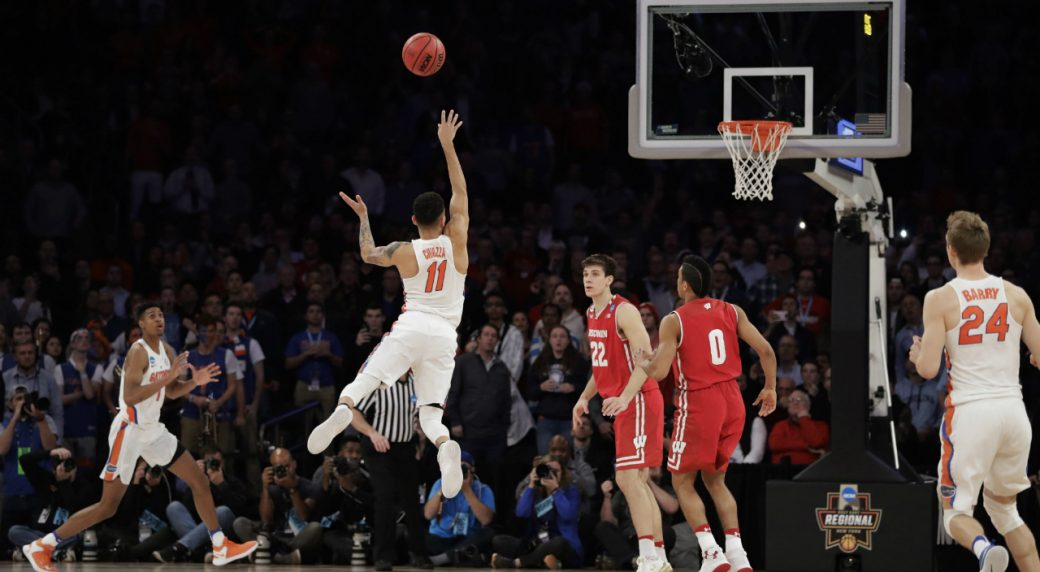 NCAA tournament: Gators spoil Badgers' Garden party