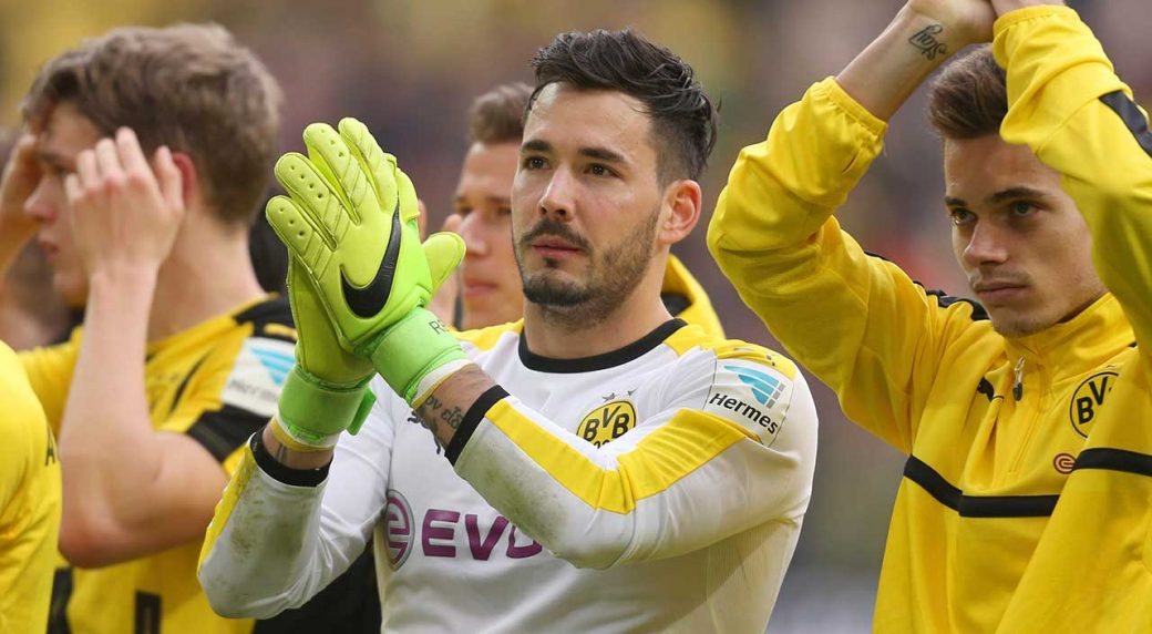 24e4d05a4 Borussia Dortmund goalkeeper Roman Buerki says he s still having trouble  sleeping after the attack on his team s bus