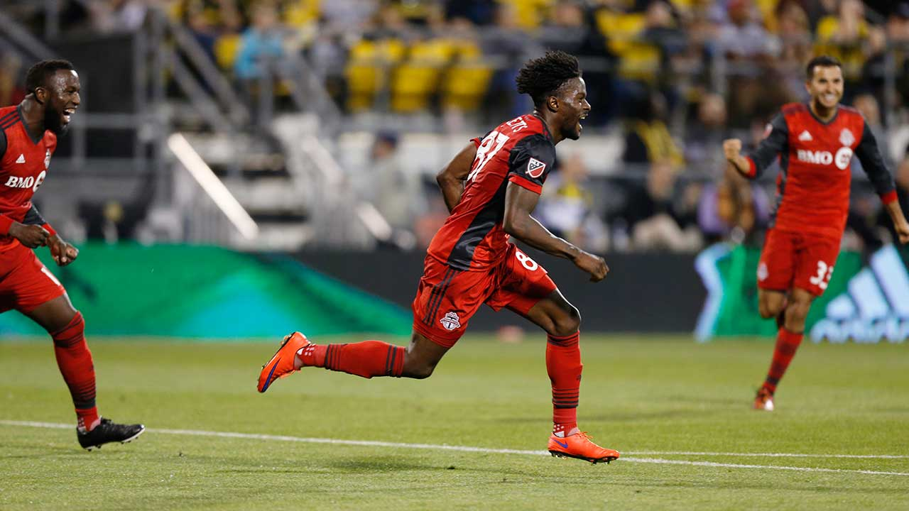 Canadian Ricketts keeps coming up big for TFC in key moments