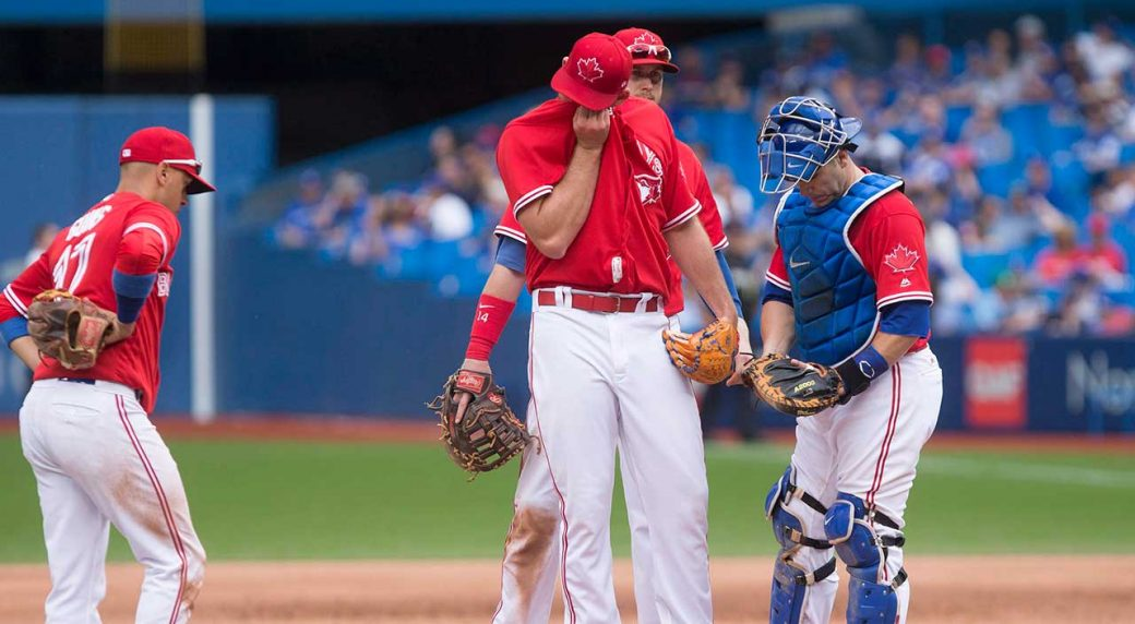 new products a8f6b e7dab Manfred open to taking more aggressive stance on MLB rule changes. Toronto  Blue Jays ...