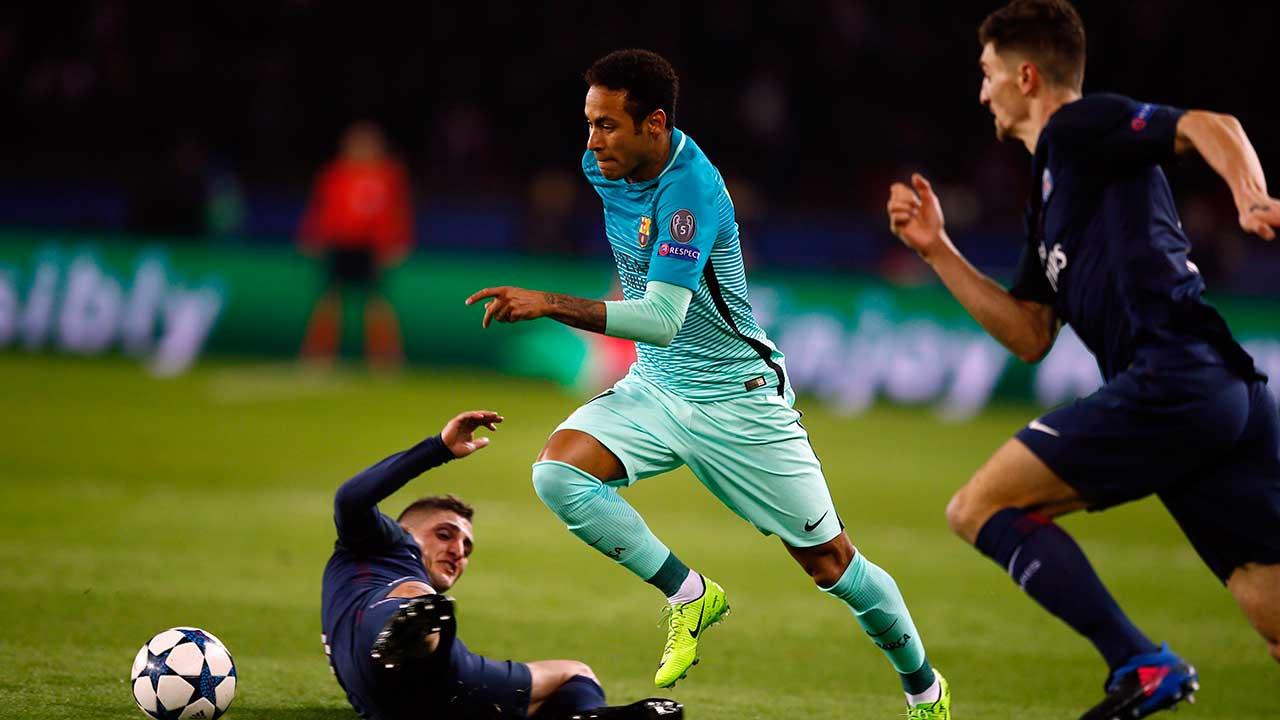 Neymar to PSG Barcelona s denials don t stop transfer talk