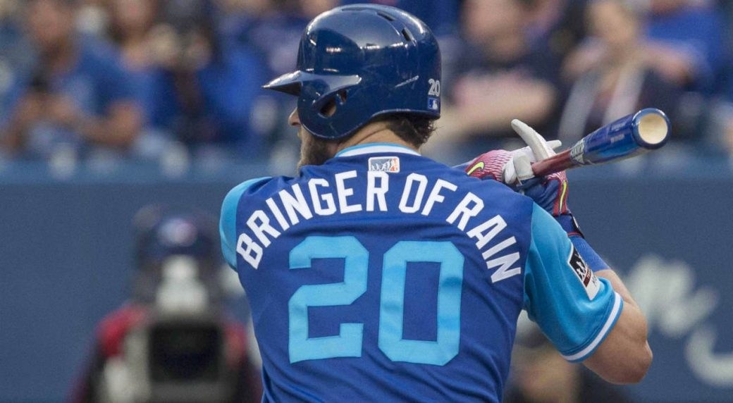 ab7150ef79d List of Blue Jays 2018 MLB Players  Weekend nicknames released ...