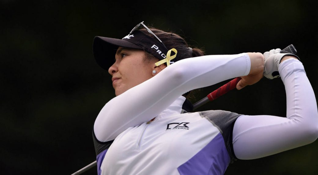 Defending champ Kirk leads Thornberry LPGA with record-tying 62
