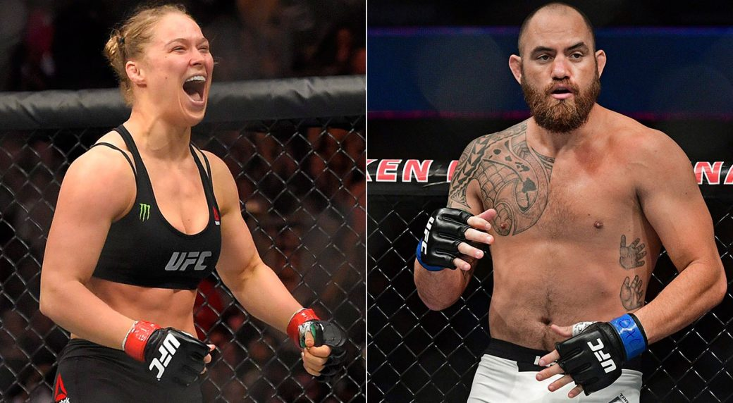 UFC Stars Ronda Rousey, Travis Browne Release Photos Of