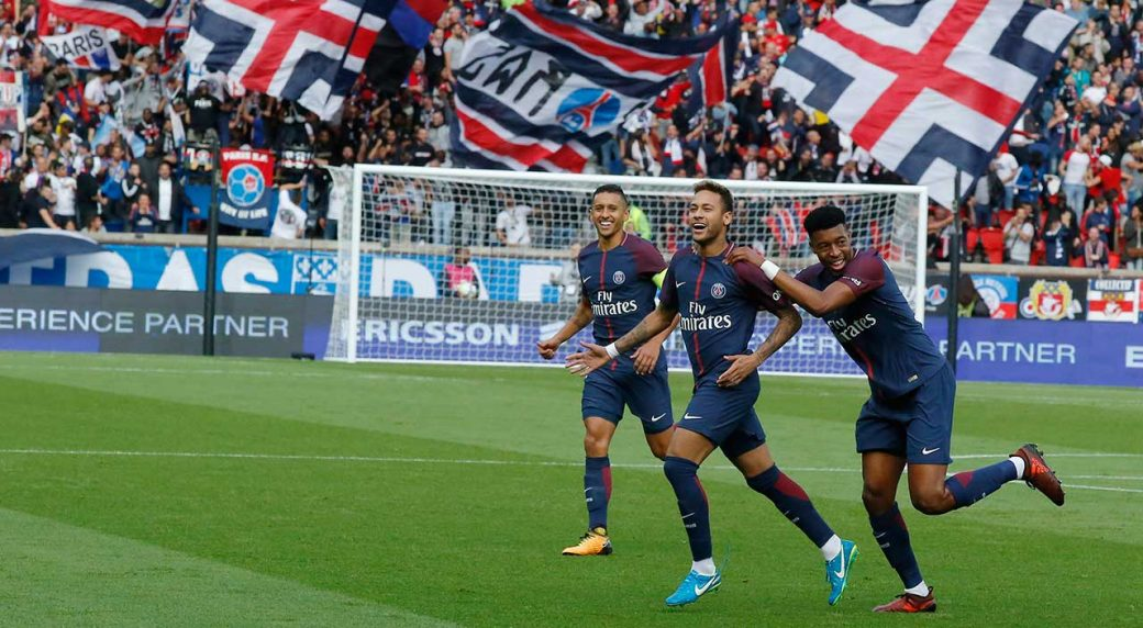 Superb PSG beats Bordeaux 6-2 to stay unbeaten in Ligue 1