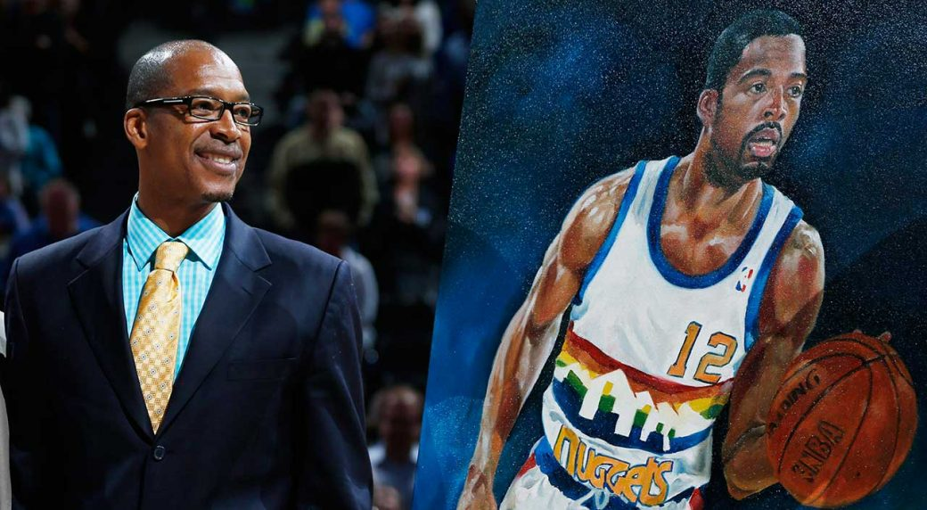 1d162e8956c Nuggets will retire Fat Lever s number in December ceremony. Retired Denver  ...