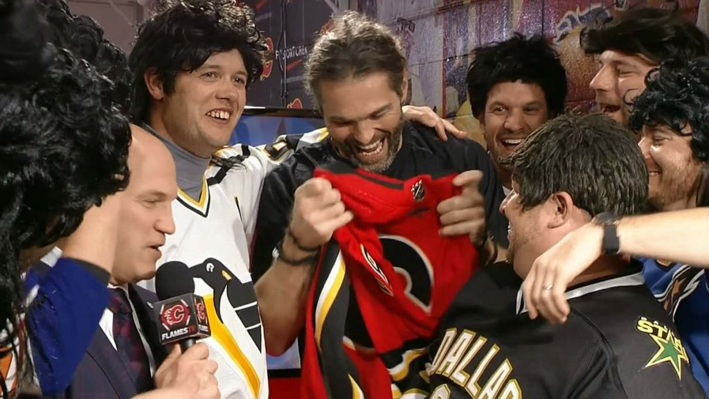 Calgary Flames Jaromir Jagr One Of A Kind (Saturday)