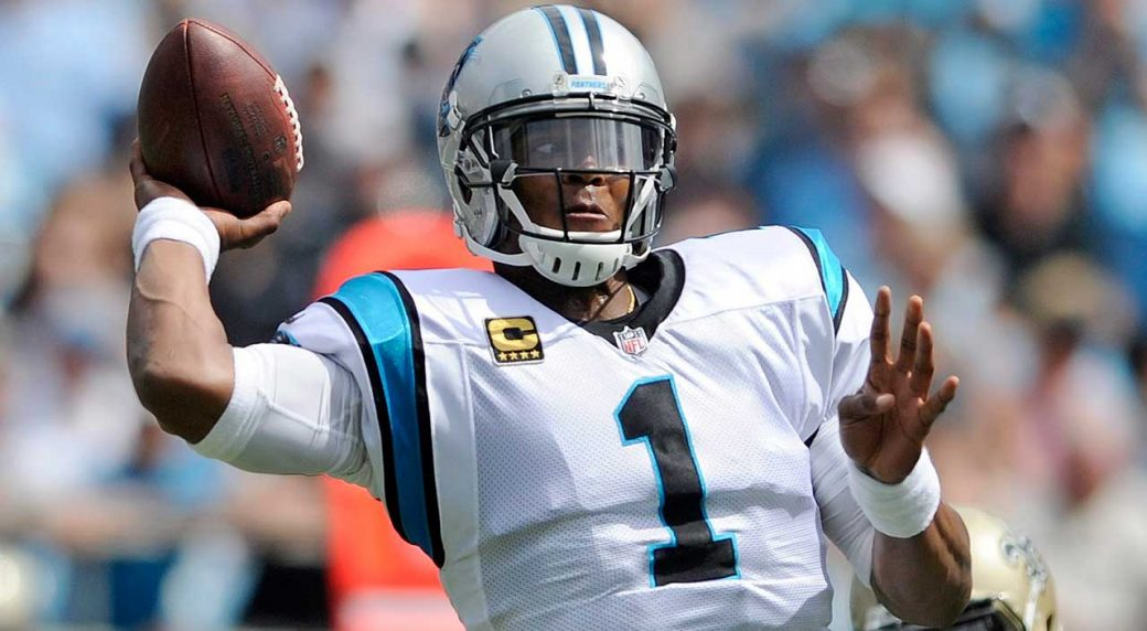 5d57d0d3185 Panthers coach: Not big deal Cam Newton isn't throwing yet ...