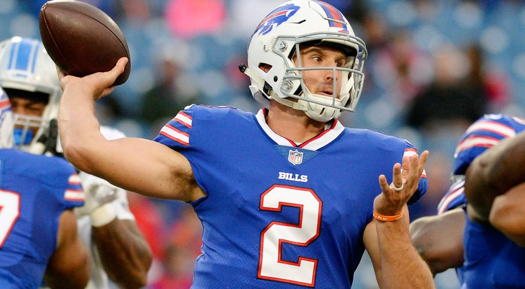 Nathan Peterman Draft Profile >> Bills Name Nathan Peterman Starting Quarterback Sportsnet Ca