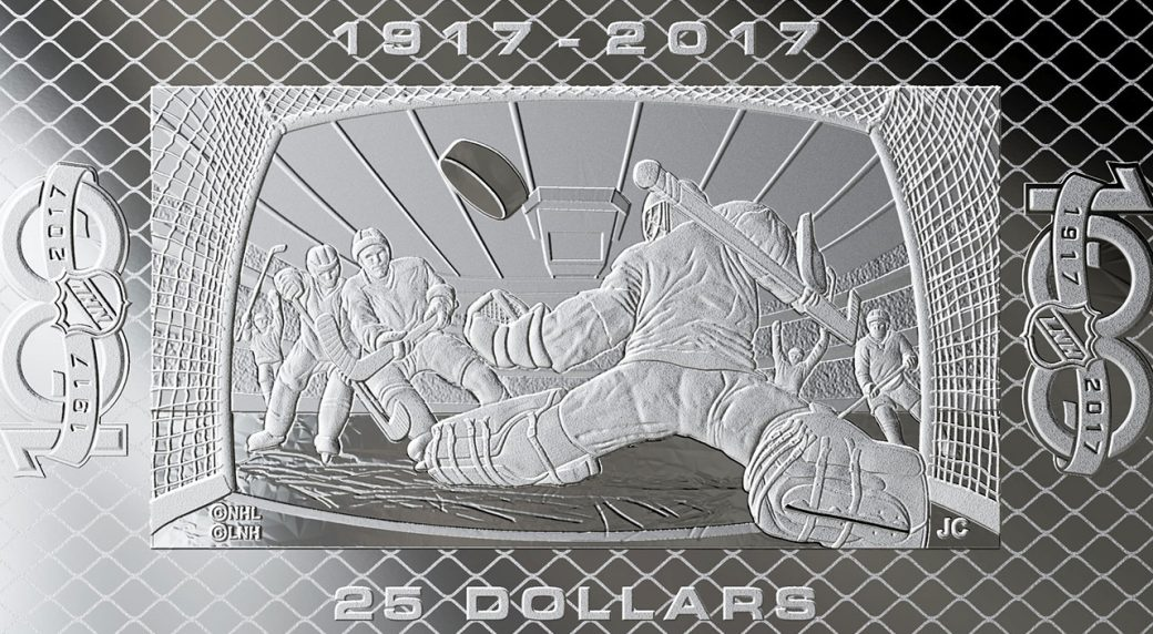 a74b3c0bb78 Royal Canadian Mint releases coin celebrating NHL s 100th anniversary