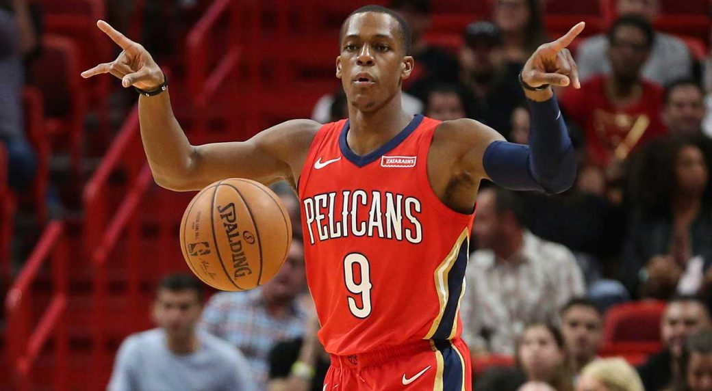 ad1bd37f1 Rajon Rondo s record 25 assists power Pelicans past Nets. Rajon Rondo will  join ...