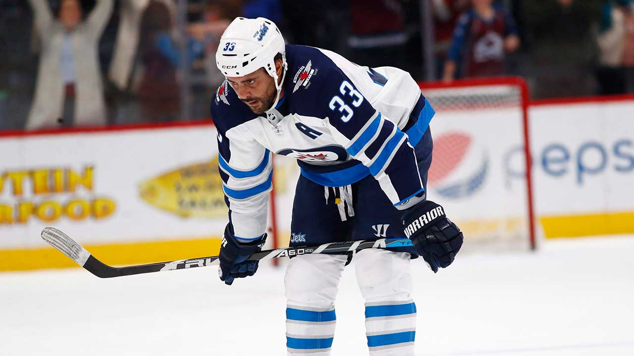 Byfuglien Leaves Game After Collision With Kunin